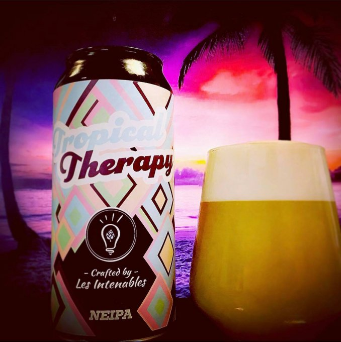 Tropical Therapy - NEIPA - 6.4% - Canette 44cl